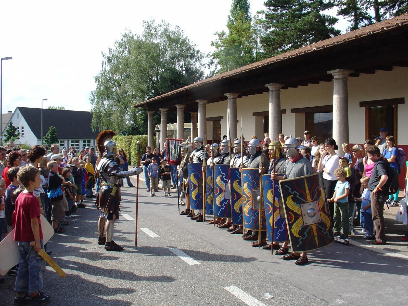 Nr 7 Roemerfest Legionaere