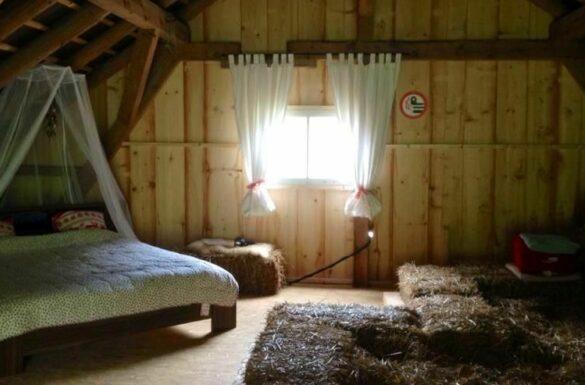 Stierenberg - Schlafen im Stroh