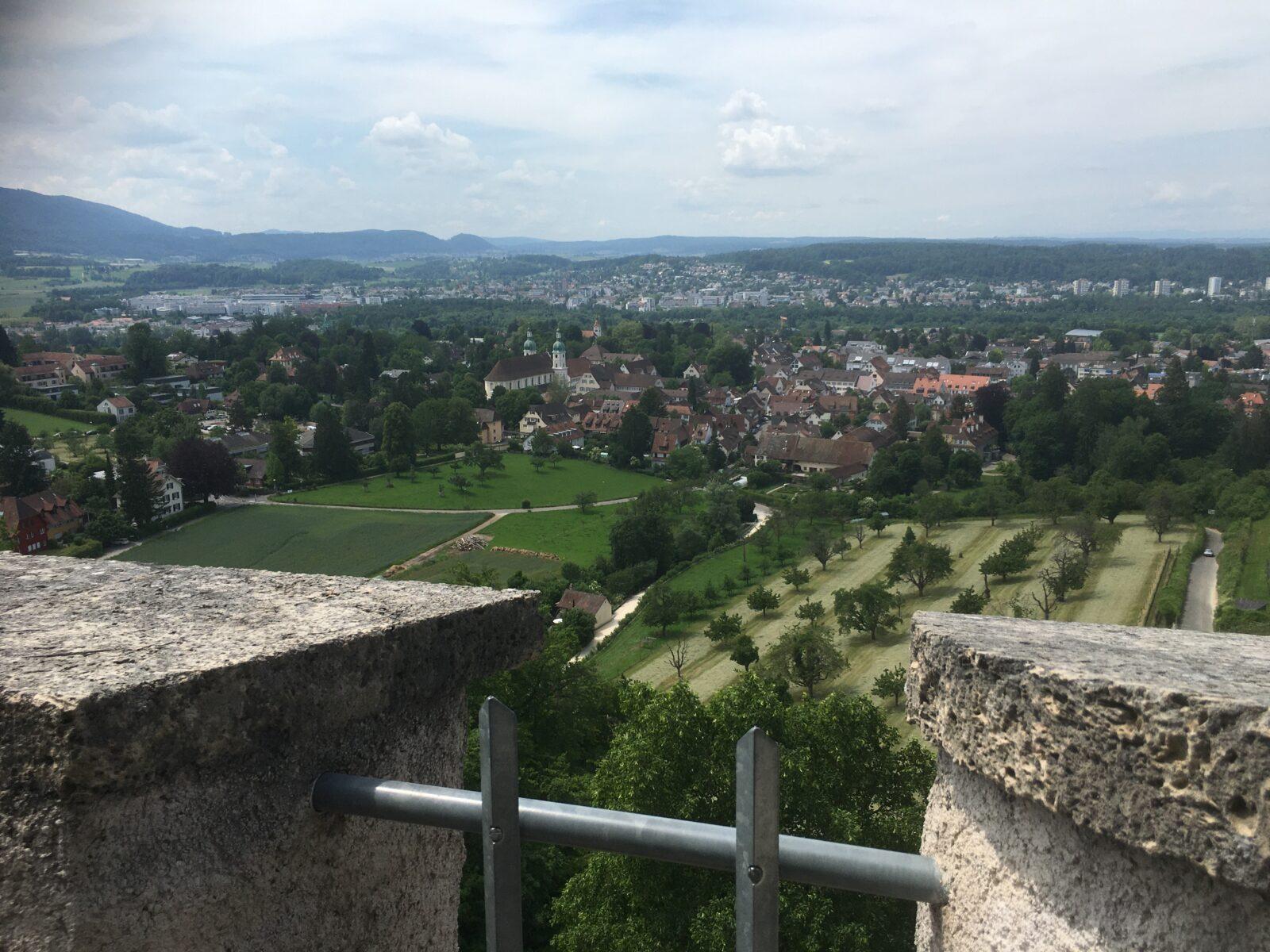 Burg Birseck Aussicht Arlesheim
