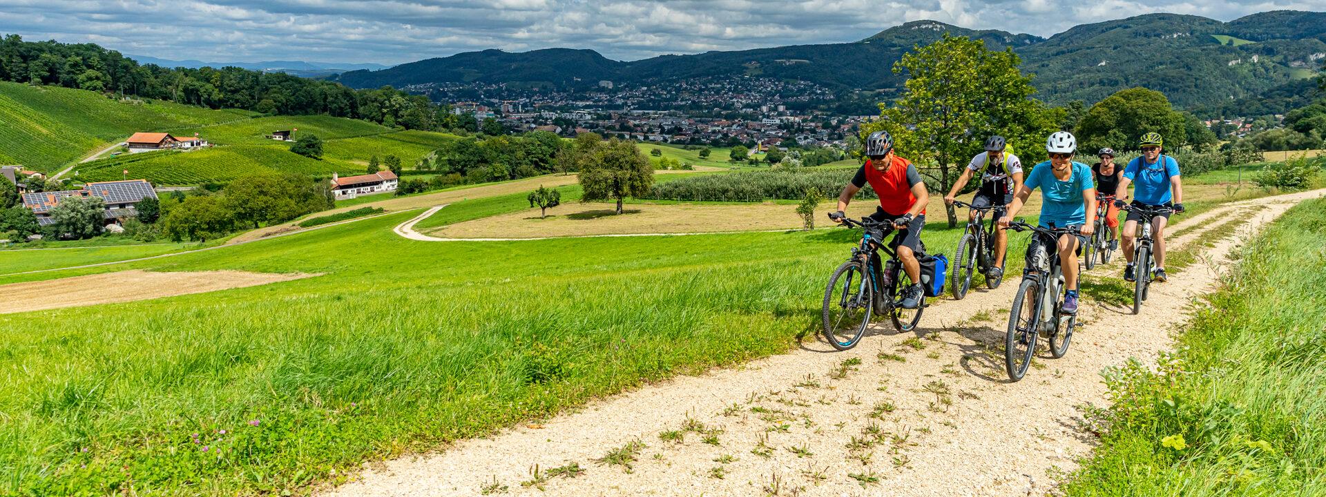 E-Bike-Land Nordwestschweiz