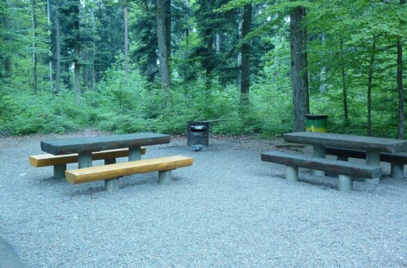 Feuerstelle Waldhütte, Zunzgen