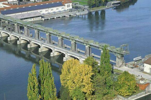 Flusskraftwerk Augst