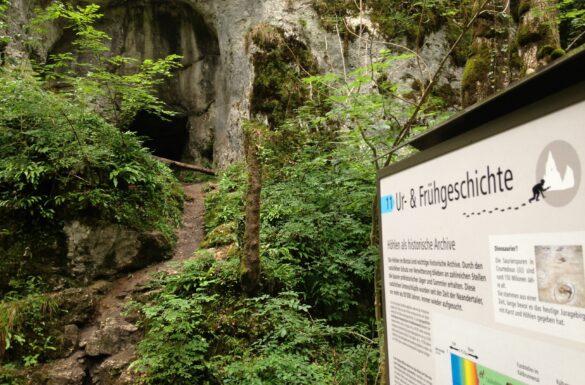 Karstlehrpfad Kaltbrunnental