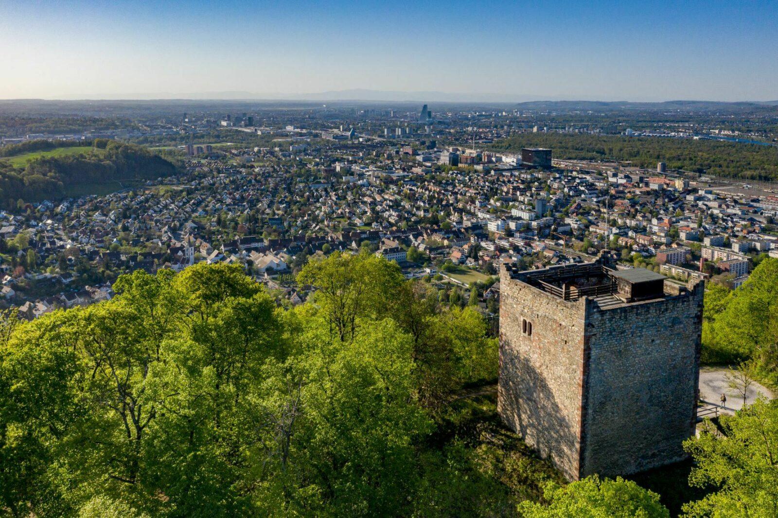 Ruinen Wartenberg Baselland Muttenz Jan Geerk 2021 2