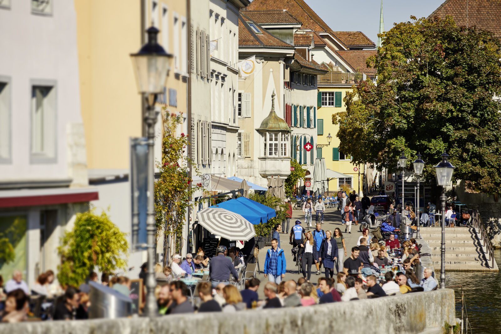 Aare Riviera Landhausqaui 1 Solothurn Tourismus Tino Zurbruegg
