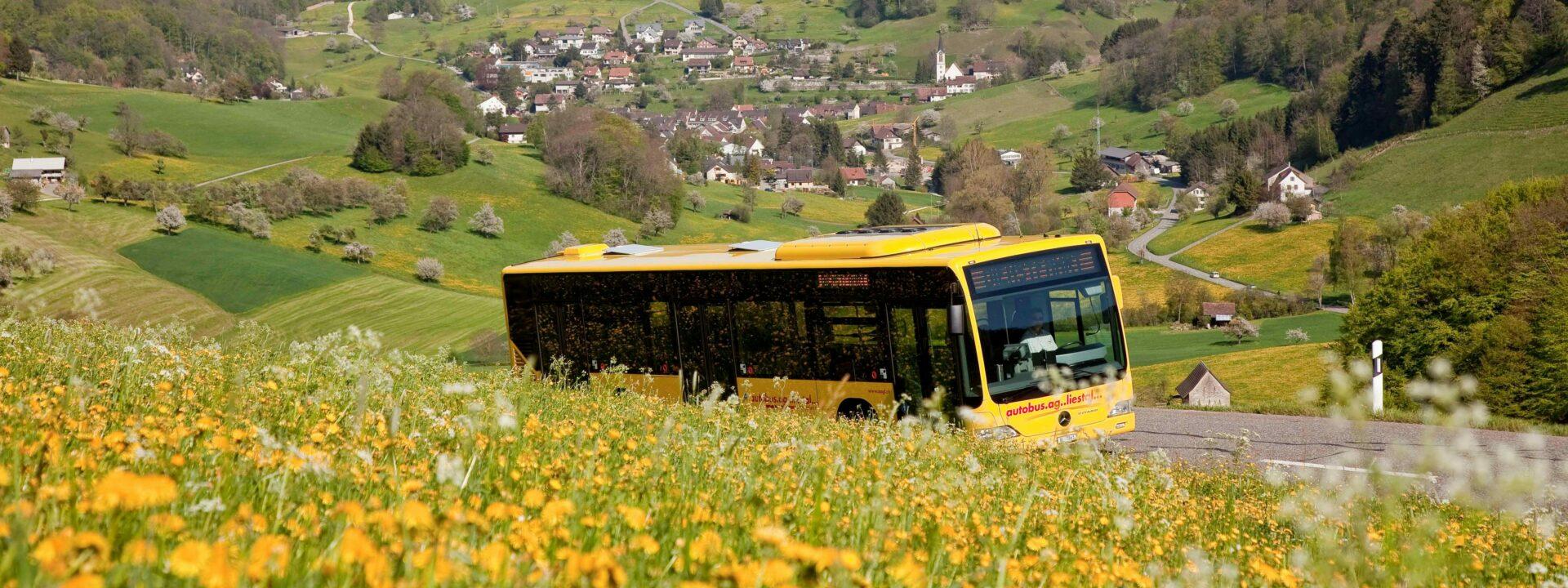 Wandern mit der Autobus AG